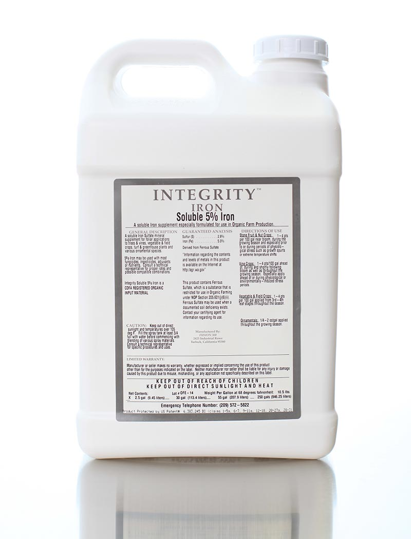 Integrity Soluble 5% Iron
